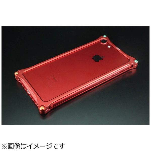 【送料無料】 GILDDESIGN iPhone 7用 Solid Bumper -RADIO EVA Limited Matte RED- 式波・アスカ・ラングレー GIEV-272MRA
