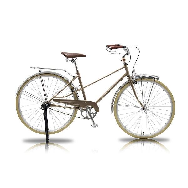 【送料無料】 WACHSEN 700×28C型 カーゴバイク Straat(ゴールド/シングルシフト) WGC-7002-GD【組立商品につき返品不可】 【代金引換配送不可】