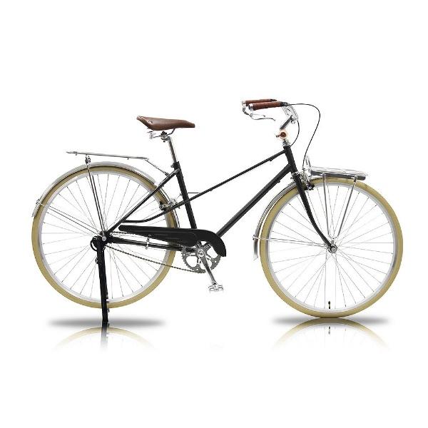 【送料無料】 WACHSEN 700×28C型 カーゴバイク Straat(グレー/シングルシフト) WGC-7002-GY【組立商品につき返品不可】 【代金引換配送不可】