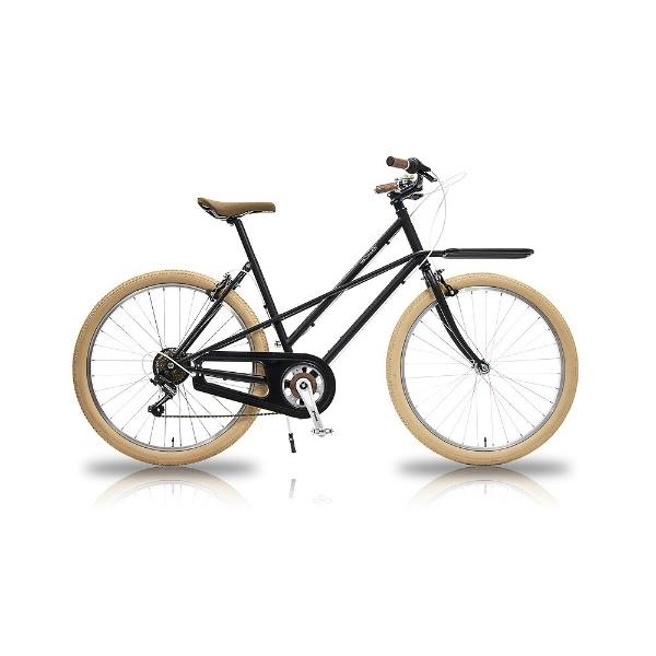 【送料無料】 WACHSEN 26型 自転車 カーゴバイク STLINE(ブラック/6段変速) WBG-2603【組立商品につき返品不可】 【代金引換配送不可】