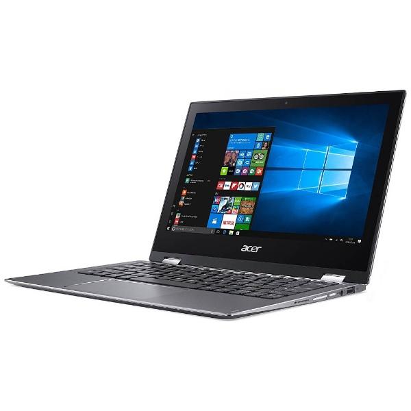 【送料無料】 ACER エイサー 11.6型タッチ対応ノートPC[Win10 Home・Celeron・eMMC 64GB・メモリ 4GB] Spin 1 スチールグレイ SP111-32N-A14P (2017年8月モデル)[SP11132NA14P]
