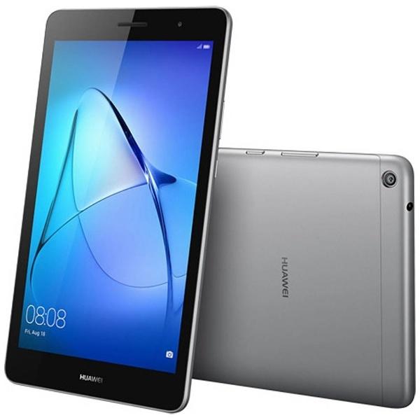 【送料無料】 HUAWEI ファーウェイ Android 7.0タブレット[8型・MSM8917・ストレージ 16GB・メモリ 2GB] MediaPad T3 8 スペースグレー KOB-W09 (2017年8月モデル)[KOBW09]