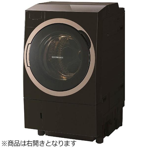 【標準設置費込み】 東芝 TOSHIBA 【1500円OFFクーポン 8/1 00:00~8/3 23:59】TW-117X6R-T ドラム式洗濯乾燥機 ZABOON(ザブーン) グレインブラウン [洗濯11.0kg /乾燥7.0kg /ヒートポンプ乾燥 /右開き]