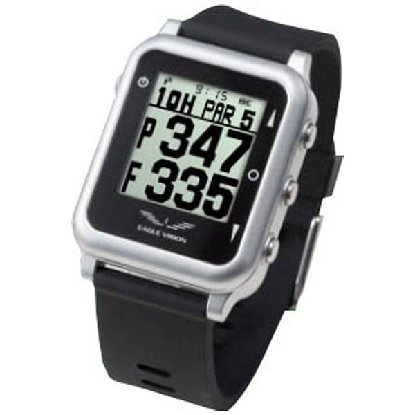【送料無料】 朝日ゴルフ用品 GPSゴルフナビゲーションウォッチ EAGLE VISION watch4(ブラック) EV717BK