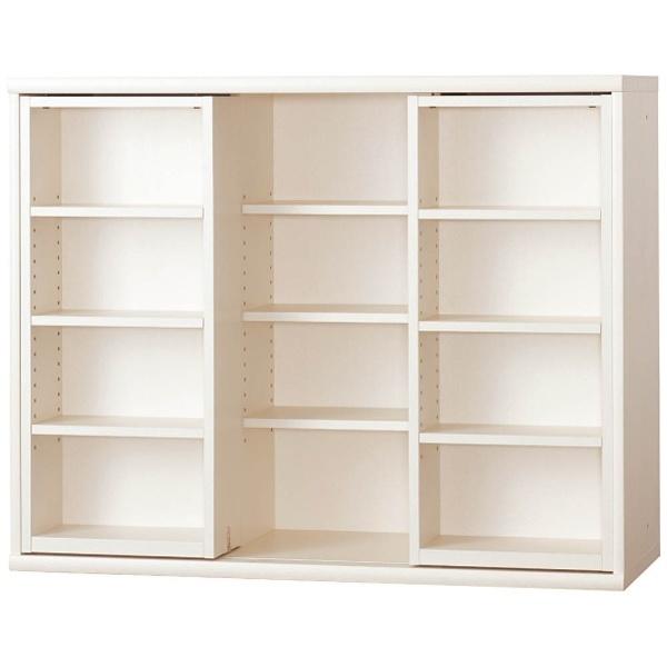 【送料無料】 小島工芸 本棚 OF-120スライドオープンホワイト