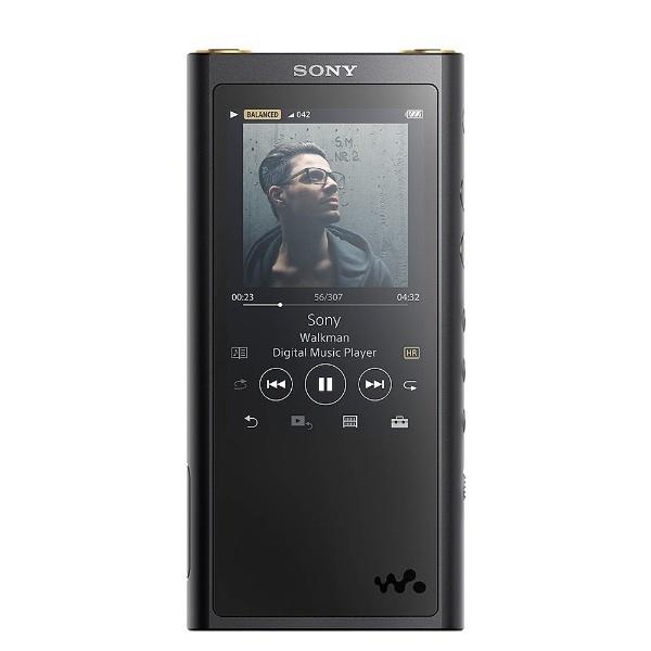 【送料無料】 ソニー SONY ハイレゾウォークマン WALKMAN ZXシリーズ 2017年モデル[イヤホンは付属していません] NW-ZX300 BM ブラック [64GB /ハイレゾ対応][NWZX300BM]