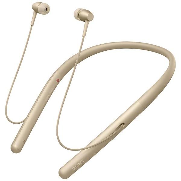 【送料無料】 ソニー SONY 【5%OFFクーポン配布中! 10/09 23:59まで】【ハイレゾ音源対応】Bluetooth対応 カナル型イヤホン(ペールゴールド) h.ear in 2 Wireless WI-H700 NM[WIH700NM]