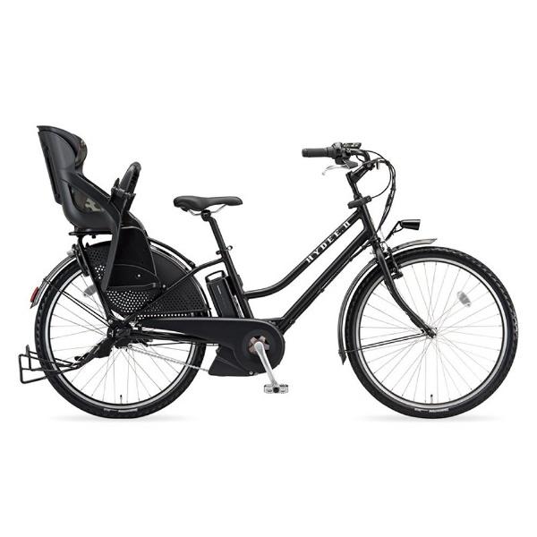 【送料無料】 ブリヂストン 26型 電動アシスト自転車 HYDEE.II(T.Xクロツヤケシ/内装3段変速) HY6C38【2018年モデル】【組立商品につき返品不可】 【代金引換配送不可】