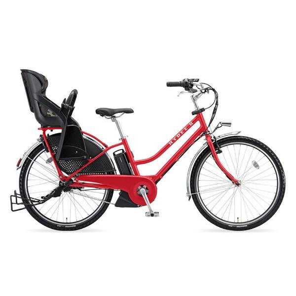 【送料無料】 ブリヂストン 26型 電動アシスト自転車 HYDEE.II(F.Xアクティブレッド/内装3段変速) HY6C38【2018年モデル】【組立商品につき返品不可】 【代金引換配送不可】