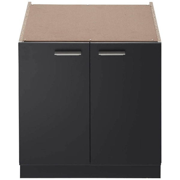 【送料無料】 ノーリツ システムキッチン用両開収納庫 NLA6020 ブラック