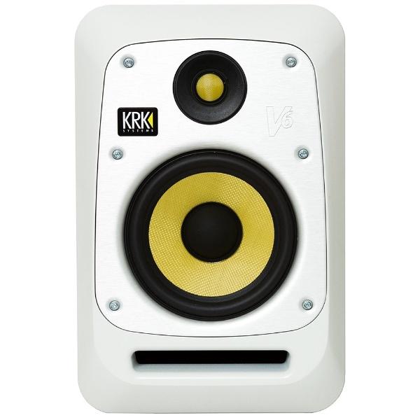 【送料無料】 KRK アクティブスピーカー (1本) V Series4 ホワイト V6S4WN-JA