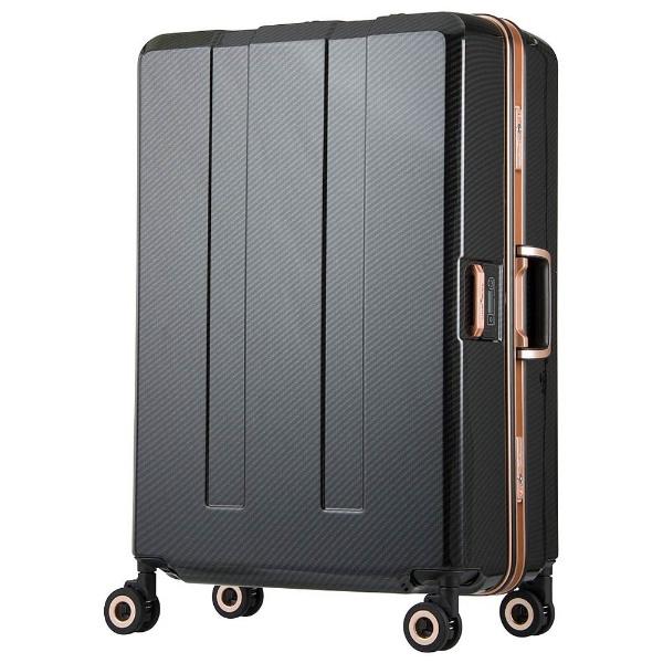 【送料無料】 レジェンドウォーカー 重量チェッカー搭載スーツケース (94L) 6703N-70-BKCB ブラックカーボン 【メーカー直送・代金引換不可・時間指定・返品不可】