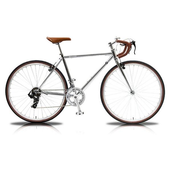 【送料無料】 WACHSEN 700×32C型 ロードバイク Spark(シルバー/490サイズ) WBR-7001-SV【組立商品につき返品不可】 【代金引換配送不可】