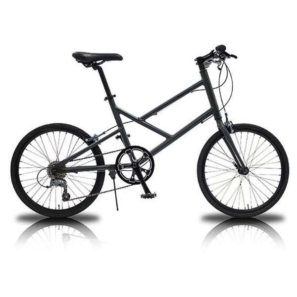 【送料無料】 WACHSEN 20型 自転車 Nacht(ガンメタ/8段変速) WBV-2001【組立商品につき返品不可】 【代金引換配送不可】