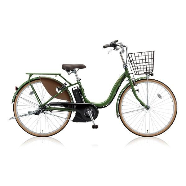 【送料無料】 ブリヂストン 26型 電動アシスト自転車 アシスタファイン(E.Xナチュラルオリーブ/内装3段変速) A6FC18【2018年モデル】【組立商品につき返品不可】 【代金引換配送不可】