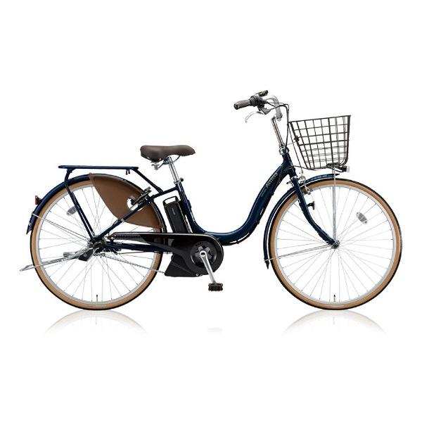 【送料無料】 ブリヂストン 24型 電動アシスト自転車 アシスタファイン(E.Xモダンブルー/内装3段変速) A4FC18【2018年モデル】【組立商品につき返品不可】 【代金引換配送不可】