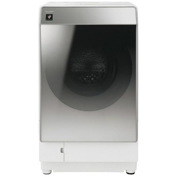 【標準設置費込み】 シャープ SHARP 【8%OFFクーポン 8/1 00:00 ~ 8/1 23:59】ES-P110-SL ドラム式洗濯乾燥機 シルバー系 [洗濯11.0kg /乾燥6.0kg /ヒートポンプ乾燥 /左開き]
