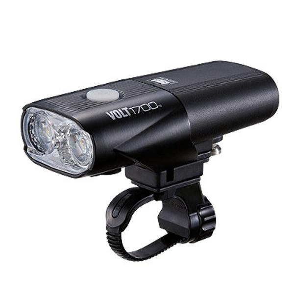 【送料無料】 キャットアイ ヘッドライト VOLT1700(ブラック) HL-EL1020RC
