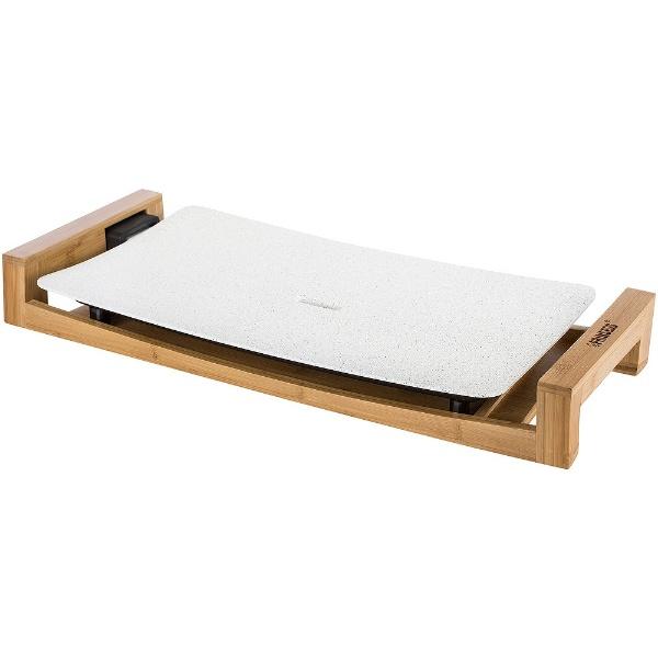 【送料無料】 プリンセス ホットプレート 「テーブルグリルストーン」(プレート1枚) 103033 ホワイト
