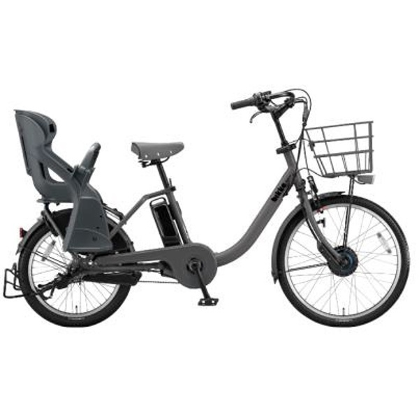 【送料無料】 ブリヂストン 24/20型 電動アシスト自転車 bikke MOB dd(E.XBKダークグレー/内装3段変速) BM0B48 【2018年モデル】【組立商品につき返品不可】 【代金引換配送不可】