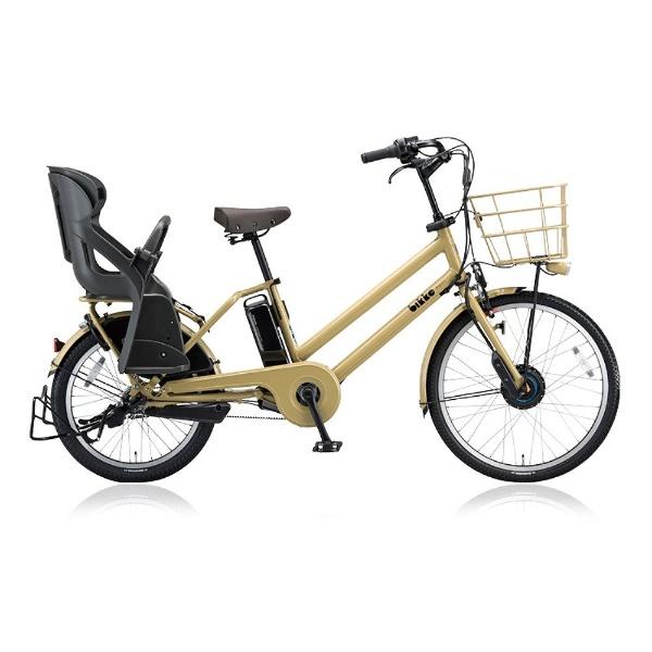 【送料無料】 ブリヂストン 24/20型 電動アシスト自転車 bikke GRI dd(E.Xランドベージュ/内装3段変速) BG0B48 【2018年モデル】【組立商品につき返品不可】 【代金引換配送不可】