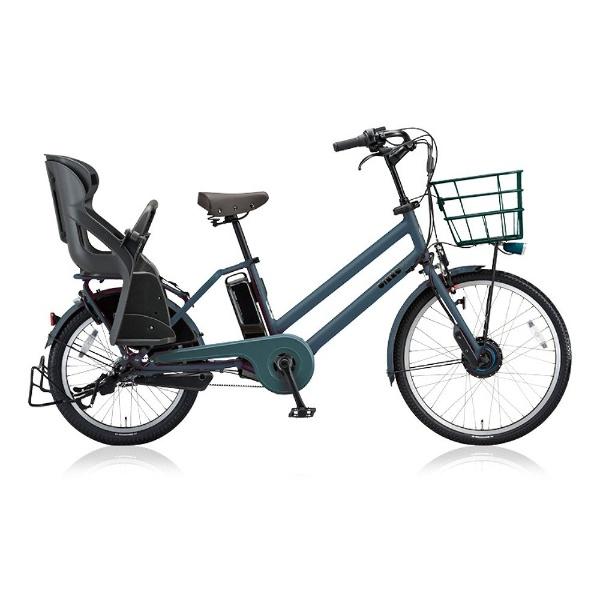 【送料無料】 ブリヂストン 24/20型 電動アシスト自転車 bikke GRI dd(T.Xディープグリーン/内装3段変速) BG0B48 【2018年モデル】【組立商品につき返品不可】 【代金引換配送不可】