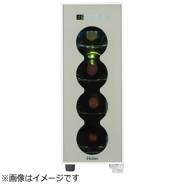 【標準設置費込み】 ハイアール Haier ワインセラー 「ラコルタ」(4本) JL-FP1C12A-W ホワイト[JLFP1C12A]