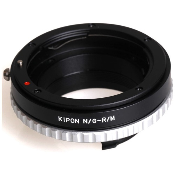 【送料無料】 KIPON マウントアダプター NIK G-M【ボディ側:ライカM/レンズ側:ニコンF・Gタイプ】[NIKGM]