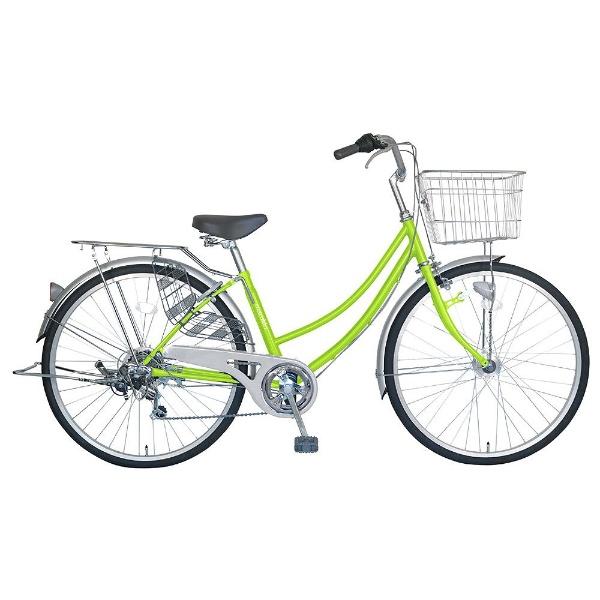 【送料無料】 MARUKIN 26型 自転車 CPH266-K(ライトグリーン/6段変速) MK-18-023【組立商品につき返品不可】 【代金引換配送不可】【メーカー直送・代金引換不可・時間指定・返品不可】