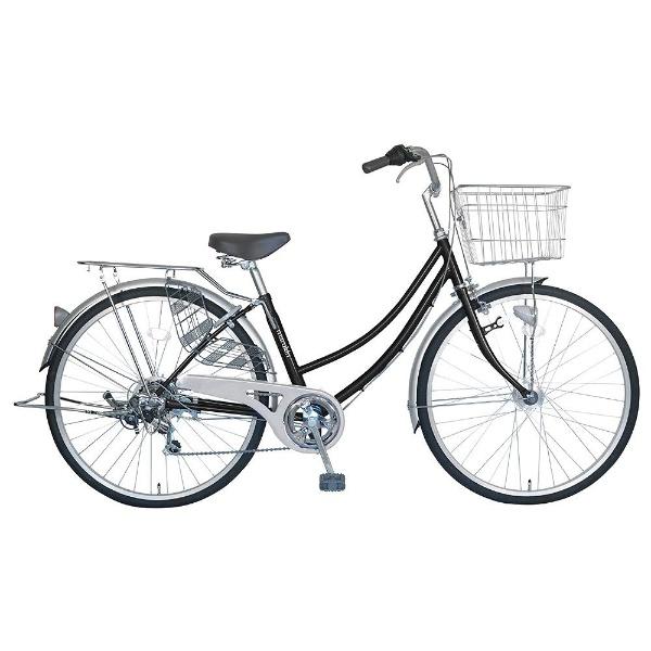 【送料無料】 MARUKIN 26型 自転車 CPH266-K(ブラック/6段変速) MK-18-023【組立商品につき返品不可】 【代金引換配送不可】【メーカー直送・代金引換不可・時間指定・返品不可】