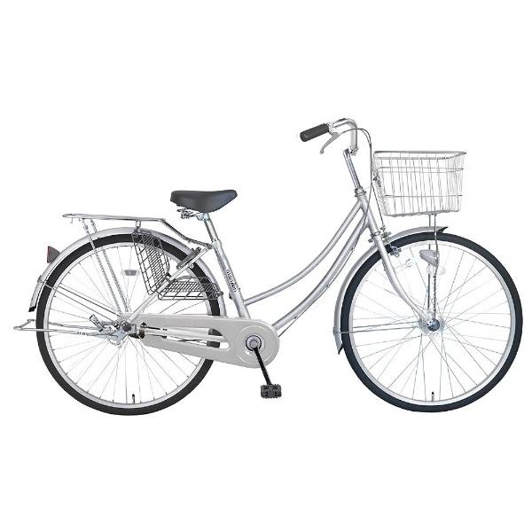 【送料無料】 MARUKIN 26型 自転車 CPH261-K(シルバー/シングルシフト) MK-18-022【組立商品につき返品不可】 【代金引換配送不可】【メーカー直送・代金引換不可・時間指定・返品不可】