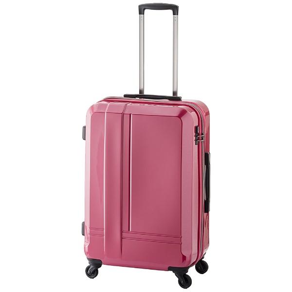 【送料無料】 A.L.I TSAロック搭載スーツケース ハードキャリー(60L) ADYー8160-24 ピンク 【メーカー直送・代金引換不可・時間指定・返品不可】