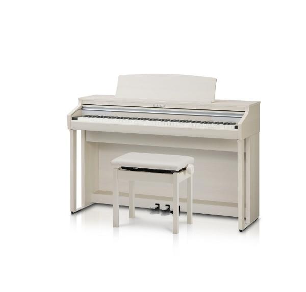 【送料無料】 河合楽器 CA48A 電子ピアノ CAシリーズ ホワイトメープル調仕上げ [88鍵盤] 【メーカー直送・代金引換不可・時間指定・返品不可】
