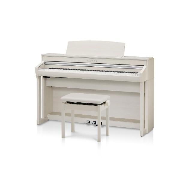 【送料無料】 河合楽器 CA78A 電子ピアノ CAシリーズ ホワイトメープル調仕上げ [88鍵盤] 【メーカー直送・代金引換不可・時間指定・返品不可】