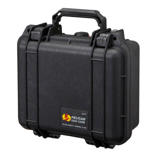 【送料無料】 ペリカン 小型防水ハードケース 1200HK (ブラック)