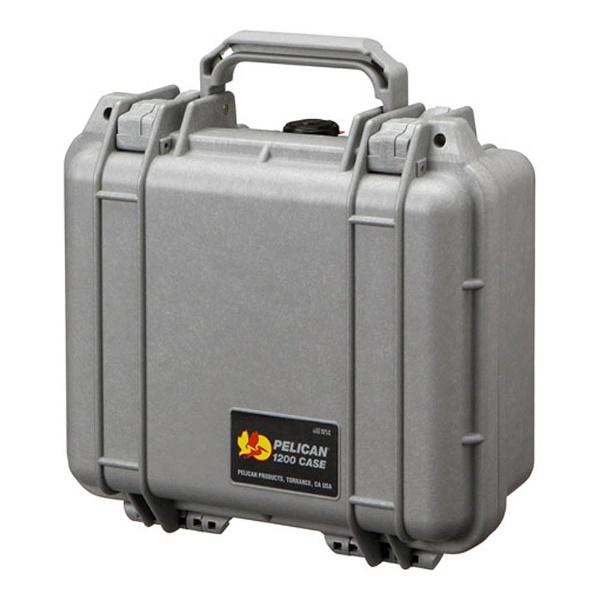 【送料無料】 ペリカン 小型防水ハードケース 1200HK (シルバー)