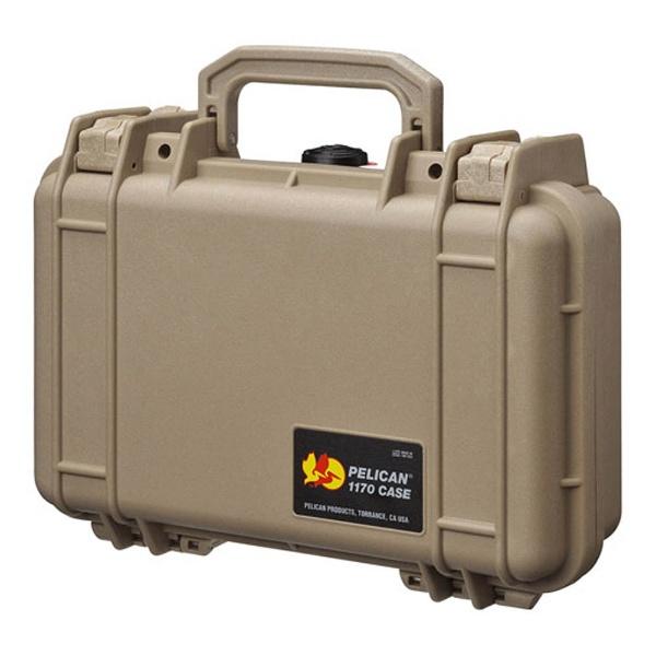 【送料無料】 ペリカン 小型防水ハードケース 1170HK (デザートタン)