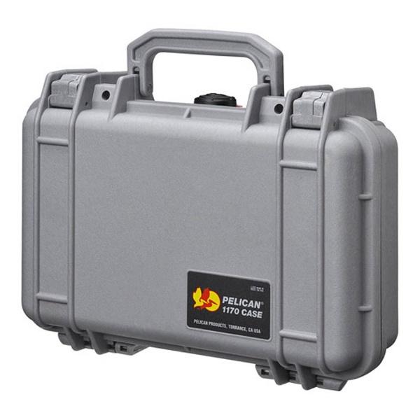 【送料無料】 ペリカン 小型防水ハードケース 1170HK (シルバー)