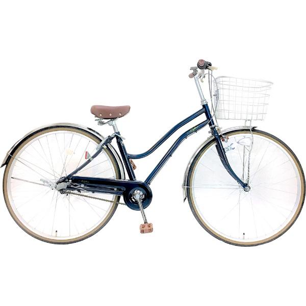 【送料無料】 サイモト自転車 27型 自転車 レセファロシティ(ネイビー/内装3段変速) CDA-W273R-HD-BAA-BC【組立商品につき返品不可】 【代金引換配送不可】【メーカー直送・代金引換不可・時間指定・返品不可】