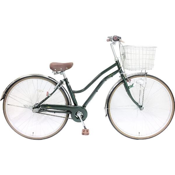 【送料無料】 サイモト自転車 27型 自転車 レセファロシティ(グリーン/内装3段変速) CDA-W273R-HD-BAA-BC【組立商品につき返品不可】 【代金引換配送不可】【メーカー直送・代金引換不可・時間指定・返品不可】