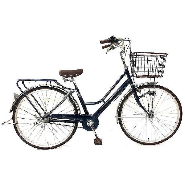 【送料無料】 サイモト自転車 26型 自転車 レセファロ(ネイビー/内装3段変速) FH-W263R-HD-BAA-BC【組立商品につき返品不可】 【代金引換配送不可】【メーカー直送・代金引換不可・時間指定・返品不可】