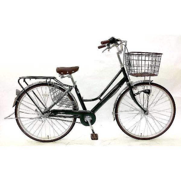 【送料無料】 サイモト自転車 26型 自転車 レセファロ(グリーン/内装3段変速) FH-W263R-HD-BAA-BC【組立商品につき返品不可】 【代金引換配送不可】【メーカー直送・代金引換不可・時間指定・返品不可】