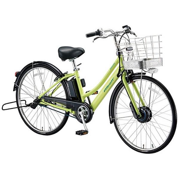 【送料無料】 ブリヂストン 27型 電動アシスト自転車 アルベルト e(T.ネオンライム/内装5段変速) AL7B48 【2018年モデル】【組立商品につき返品不可】 【代金引換配送不可】