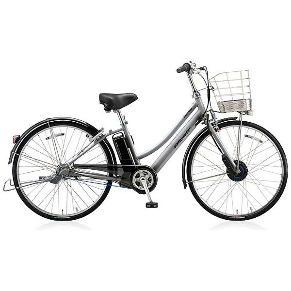 【送料無料】 ブリヂストン 27型 電動アシスト自転車 アルベルト e(M.スパークシルバー/内装5段変速) AL7B48 【2018年モデル】【組立商品につき返品不可】 【代金引換配送不可】