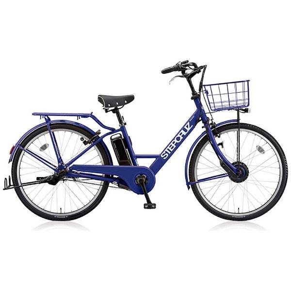 【送料無料】 ブリヂストン 26型 電動アシスト自転車 STEP CRUZ e(E.Xバイオレットブルー/内装3段変速) ST6B48 【2018年モデル】【組立商品につき返品不可】 【代金引換配送不可】