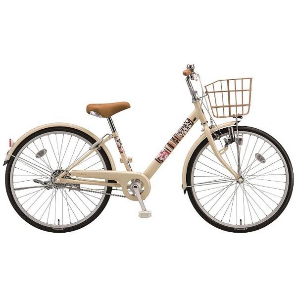 【送料無料】 ブリヂストン 22型 子供用自転車 エコパルモカ(E.Xエッグシェルベージュ/シングル) EPM20【2018年モデル】【組立商品につき返品不可】 【代金引換配送不可】