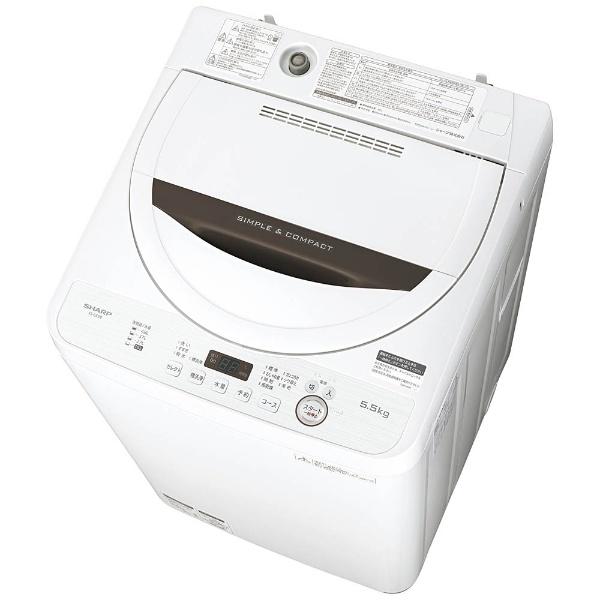 ハイアール 【返品種別A】 JW-KD55B-W (標準設置料込) 5.5kg [JWKD55BW] 全自動洗濯機 Haier ホワイト
