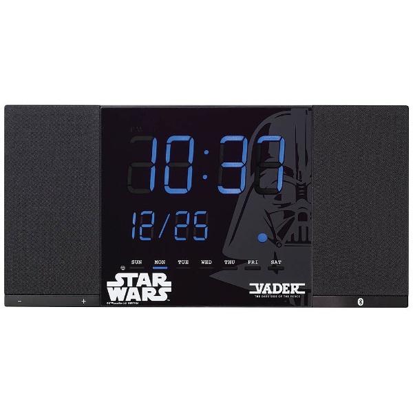 【送料無料】 リズム時計 掛置兼用時計 「TOKIOTO(トキオト) DARTH VADER」 8RDA71MC02 【代金引換配送不可】