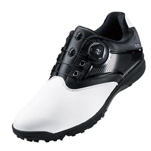 【送料無料】 アシックス メンズ ゴルフシューズ GEL-TUSK 2 Boa(25.0cm/ホワイト×ブラック)TGN921