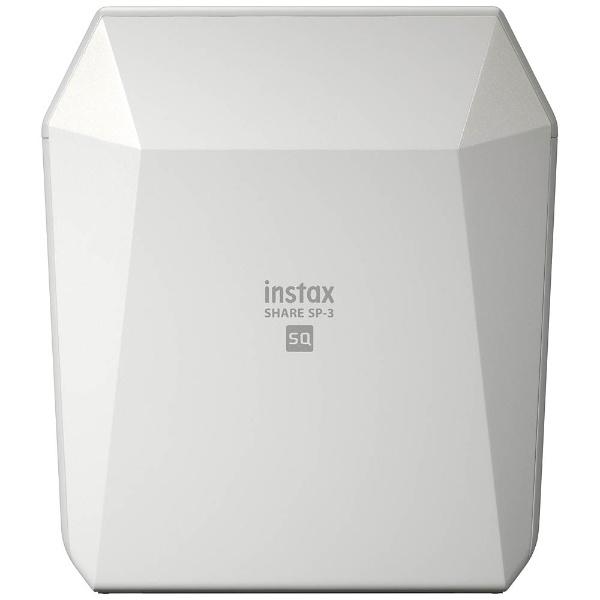 【送料無料】 フジフイルム FUJIFILM 〔iOS/Androidアプリ〕 「スマホdeチェキ」 「instax SHARE SP-3」(ホワイト)[INSTAXSHARESP3WHITE]